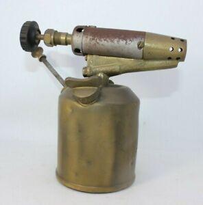 Hahnel-Vintage-brass-blow-lamp-torch-antique-spares