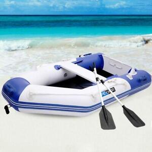 Pexmor 7 5ft Inflatable Dinghy Boat Fishing Tender Rafting Water Sports Blue Ebay