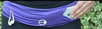 Small Purple Lunabelt Flip Belt Running Hiking Trail Hydration Gym Workout Phone