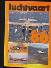 de Alk Book Luchtvaart 86 B. van der Klaauw (Nederlands) #815