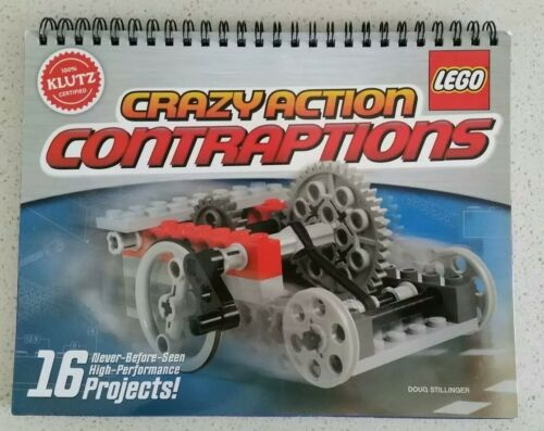 Lego Crazy Action Contraptions Instruction Booklet