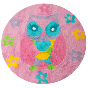 Owl song floor mat rug flowers owl bedroom bird birdie pink pretty image is loading owl song floor mat rug flowers owl bedroom mightylinksfo