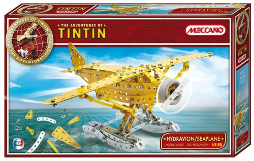 Jeu de Construction 830552 Meccano Collection Tintin NEUF Hydravion