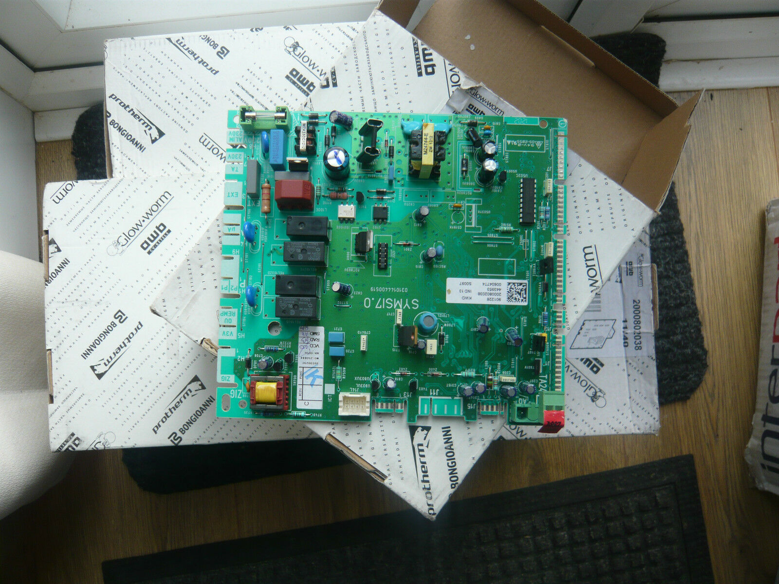 glowworm ci main pcb 2000802038 number on board 735004 v087 sauniernorton secured powered by verisign