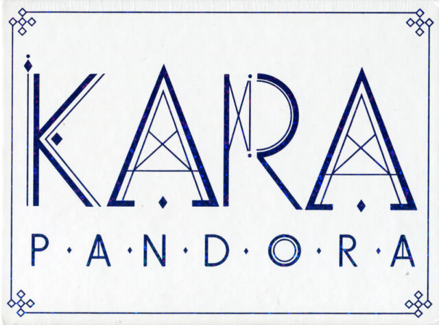 Kara-Pandora (5th Mini Album) Korea CD * versiegelt * * K-Pop * kostenloser Versand