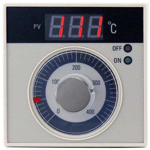 Regulador de temperatura On-Off TC secado horno de panadería industrial K 400 ° C 7A 230V