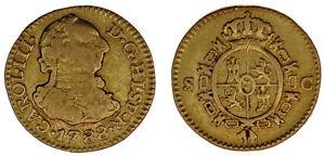 1-2-GOLD-ESCUDO-ORO-CHARLES-III-SEVILLE-CARLOS-III-SEVILLA-1788-VF-MBC
