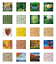 thumbnail 2 - Ambesonne-Leaves-Forest-Decorative-Satin-Napkins-Set-of-4-Party-Dinner-Fabric