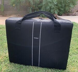 BabyBjorn-Baby-Bjorn-Travel-Crib-Light-Black-Gray-Carrying-Case-Portable-Playpen