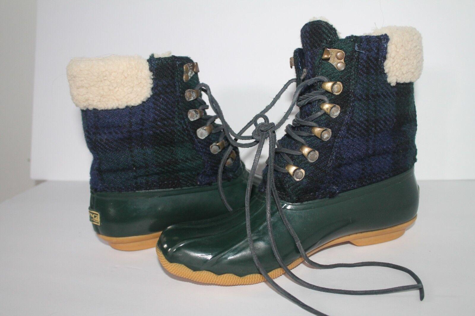 Sperry para J Crew pardela para mujer Talla Talla Talla 8 botas De Invierno verde Oliva  Tu satisfacción es nuestro objetivo