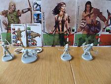 Conan the Board Game - Balthus & Slasher, Savage Belit, & Wanderer Conan!