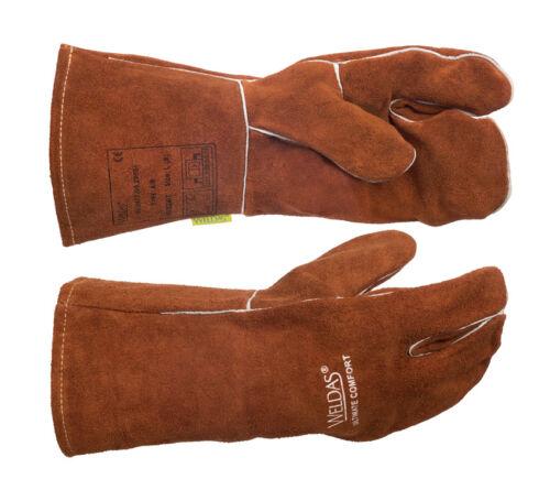 WELDAS Ultimate Comfort Mig/Mag Welding Gloves HIGH QUALITY - Size L & XL