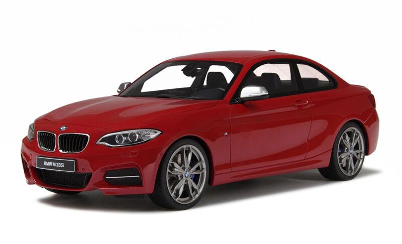 GT Spirit 1/18 BMW M235i Coupé rojo GT039