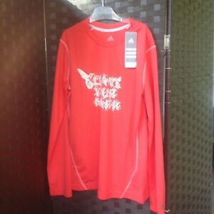 adidas FunktionsShirt Sport Gr.46 ClimaCool Microfaser