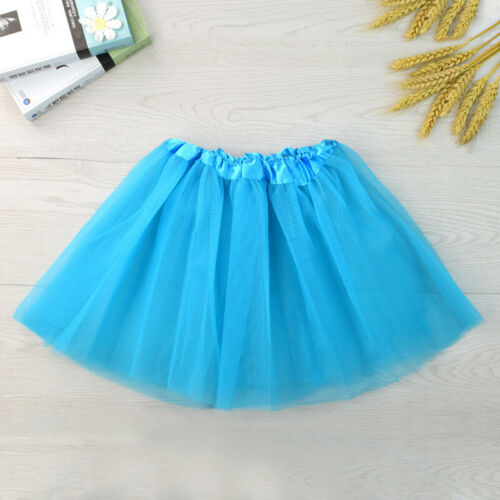 GIRLS LADIES PETTICOAT TUTU SKIRT 80S FANCY DRESS DANCE COSTUME HEN PARTY BALLET
