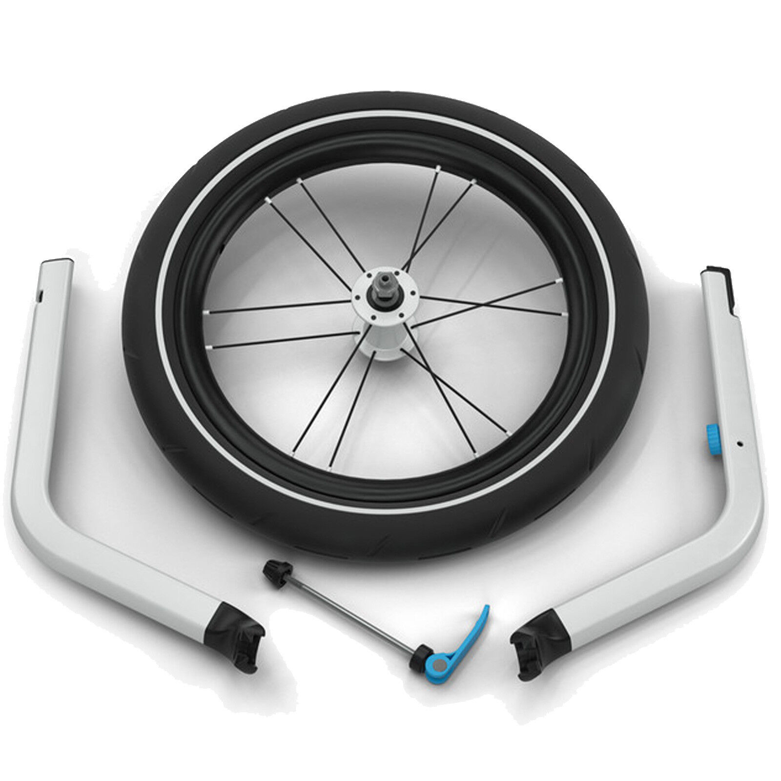 Thule Chariot Jogging Kit Fahrradanhänger-zubehör Bici Joggingrad Bici Fahrradanhänger-zubehör senza Pedali 8d9457