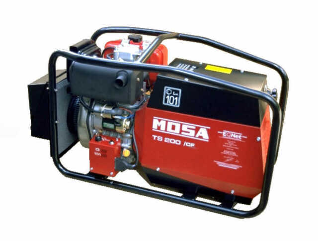 Mosa TS 200 Des/cf Genset Welding Generator 110v / 240v Honda Petrol Engine