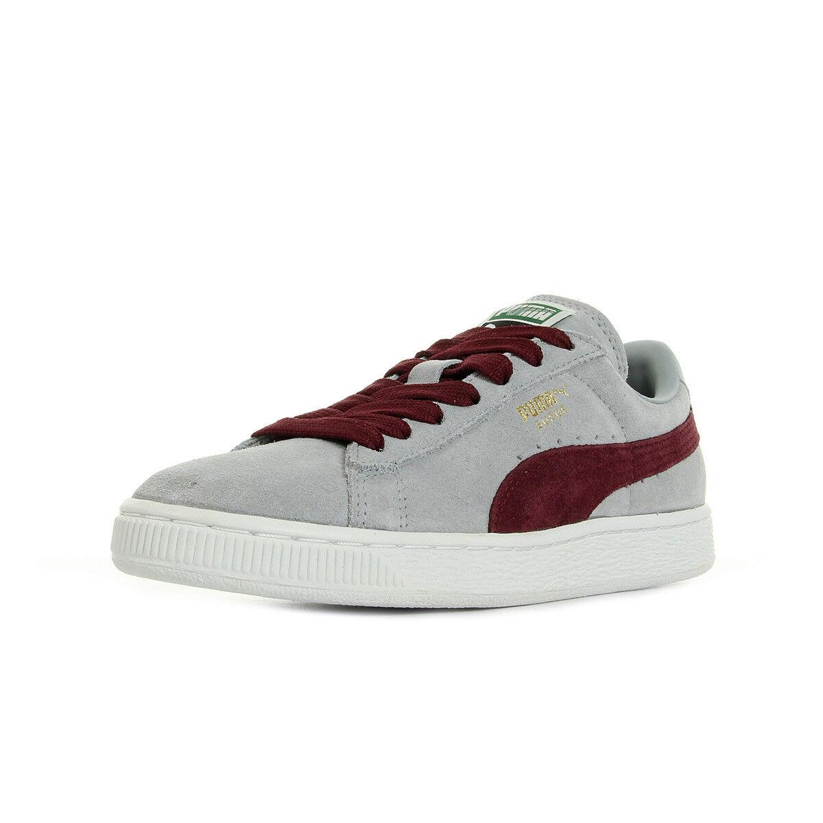 Zapatos Classic Baskets Puma unisexe Ante Classic Zapatos + taille Bordeaux Cuir Lacets 34eb6e