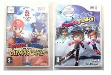 Mario e Sonic ai Giochi olimpici e famiglia SCI Wii PAL