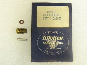 TILLOTSON NEEDLE /& SEAT KIT 407 Details about  /NEW