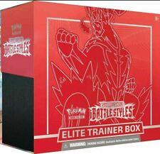 Battle Styles Sword & Shield Elite Trainer Box Pokemon Red Single Strike Urshifu