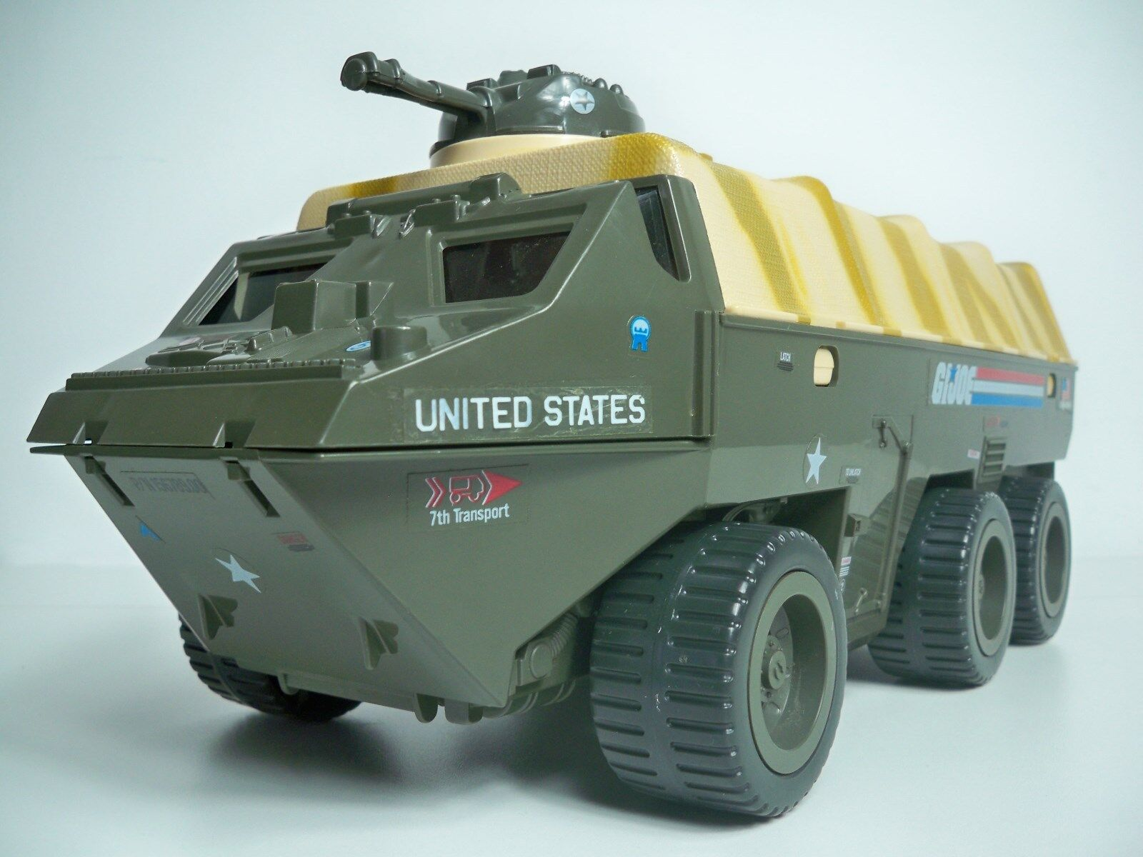 D1000005 APC PERSONNEL CARRIER LOOSE 1983 GI JOE VINTAGE DECALED