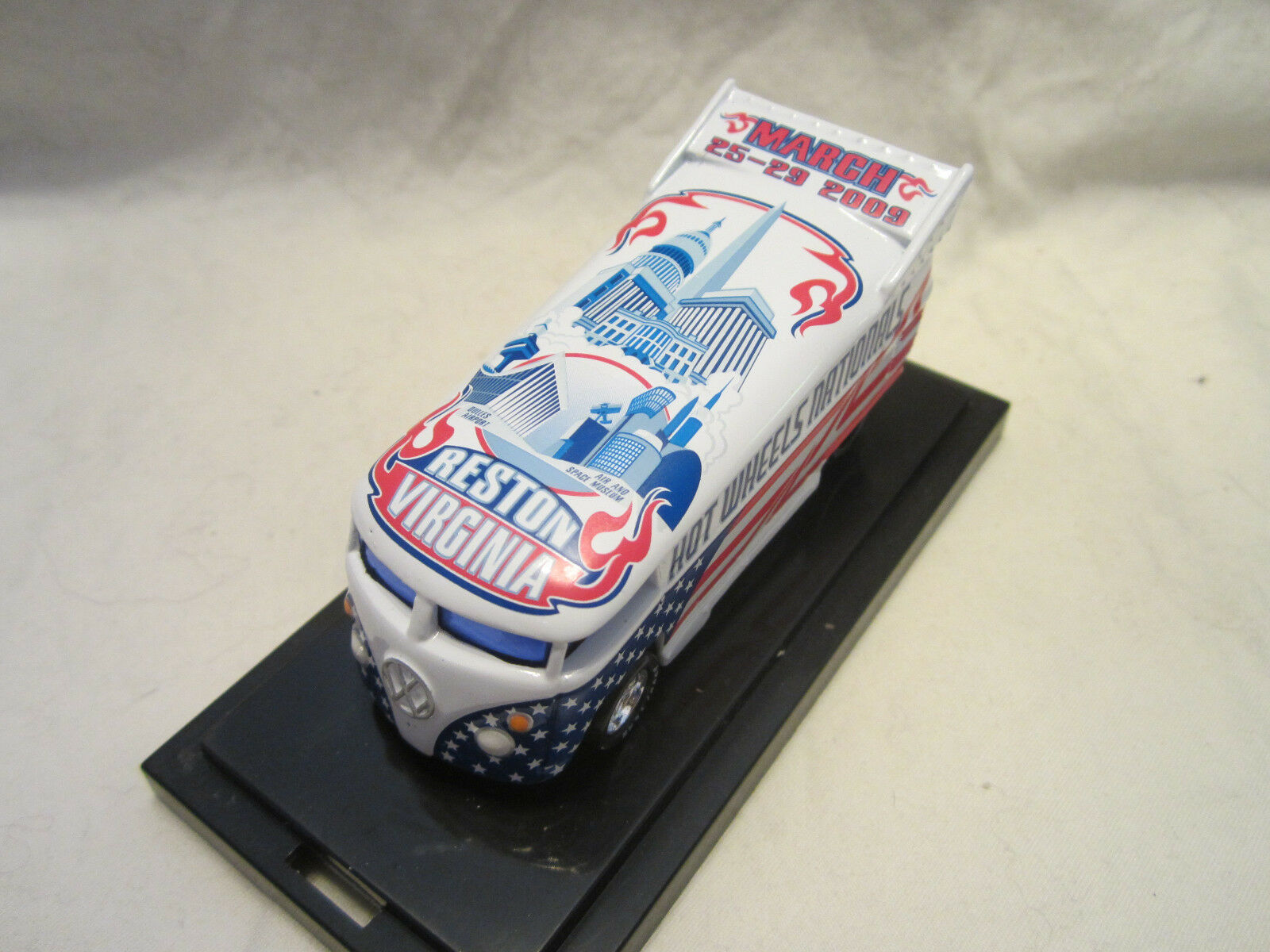 Hot Hot Hot Wheels Liberty Promotions 9th Nationals Virginia VW DRAG BUS  1300 e67f53