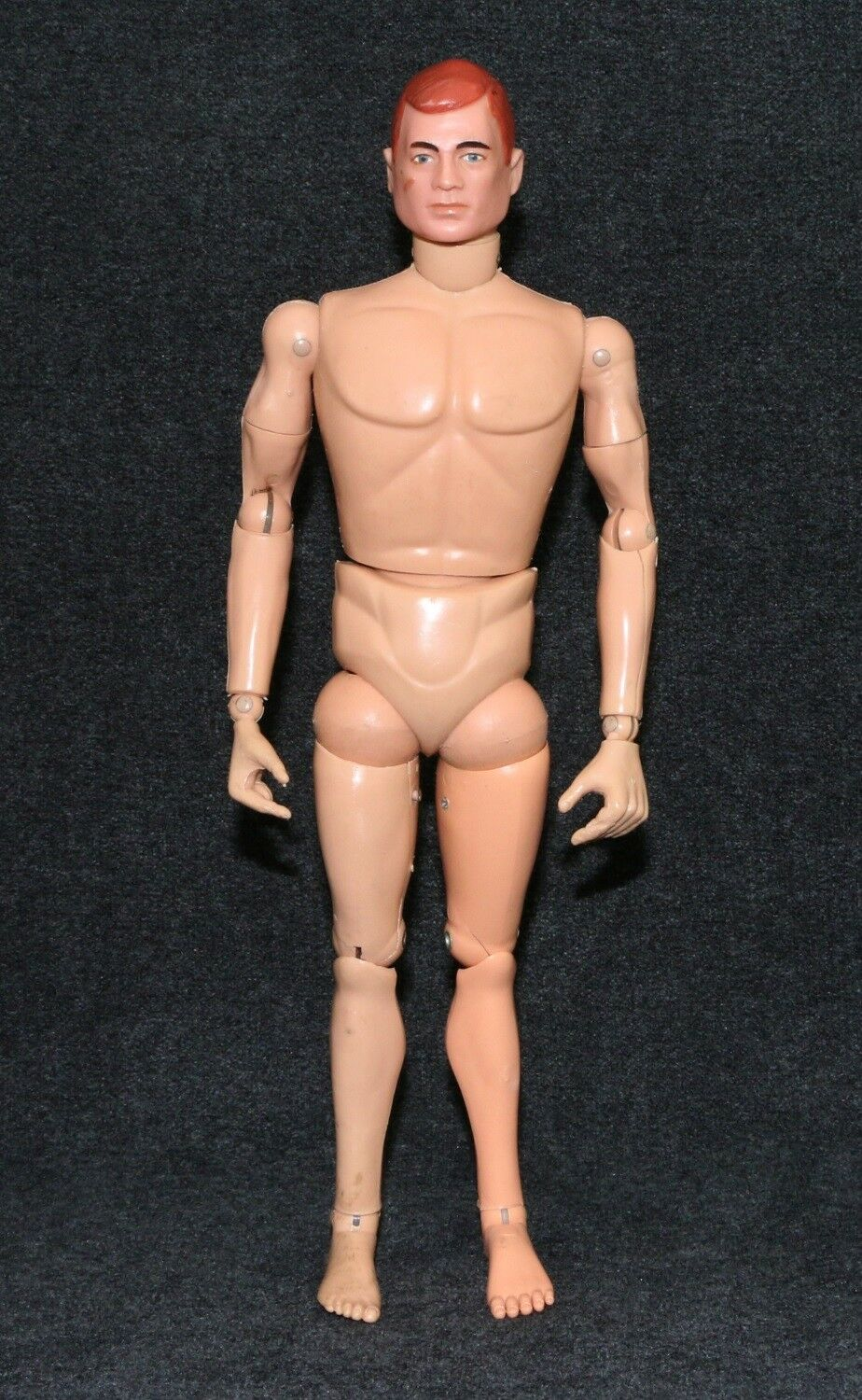 GI Joe 1964 Sessanta Nude cifra rossohead TM Single Slot Original High Grade