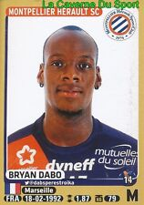 277 BRYAN DABO # MONTPELLIER.HSC Blackburn Rovers STICKER PANINI FOOT 2016