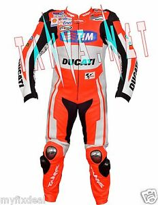 Suit-NEw-Ducati-Motorbike-One-amp-Two-Piece-Motorcycle-Racing-Leather-Size-S-5XL