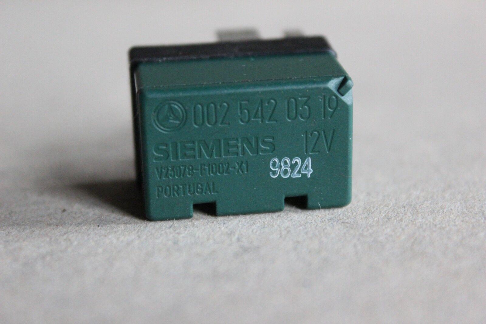 V23078-F1002-X1 /_TESTED RELAY/_ Mercedes 12V 6Pin # 0025420319