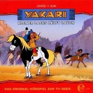 YAKARI-4-KLEINER-DACHS-LAUFT-DAVON-CD-NEU