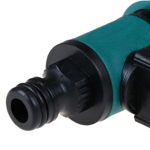 Plastic Valve with Quick Connector Garden Irrigation Pipe Hose Adapter Switch4H