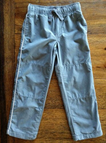 Gymboree Size 4 Athletic Pants Red Gray Mesh Lined Active Side Stripe Boys 4T
