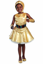 c 3po dress m star wars princess paradise costume robot r2d2 han