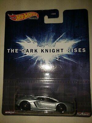 Lamborghini Aventador Coupé Batman Dark Knight Rises Retro 1:64 Hot Wheels GJR43