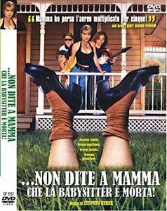 ...Non Dite A Mamma Che La Babysitter E' Morta! (DVD - Quadrifoglio) Nuovo