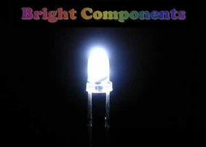 20-x-White-LED-3mm-Ultra-Bright-1st-CLASS-POST