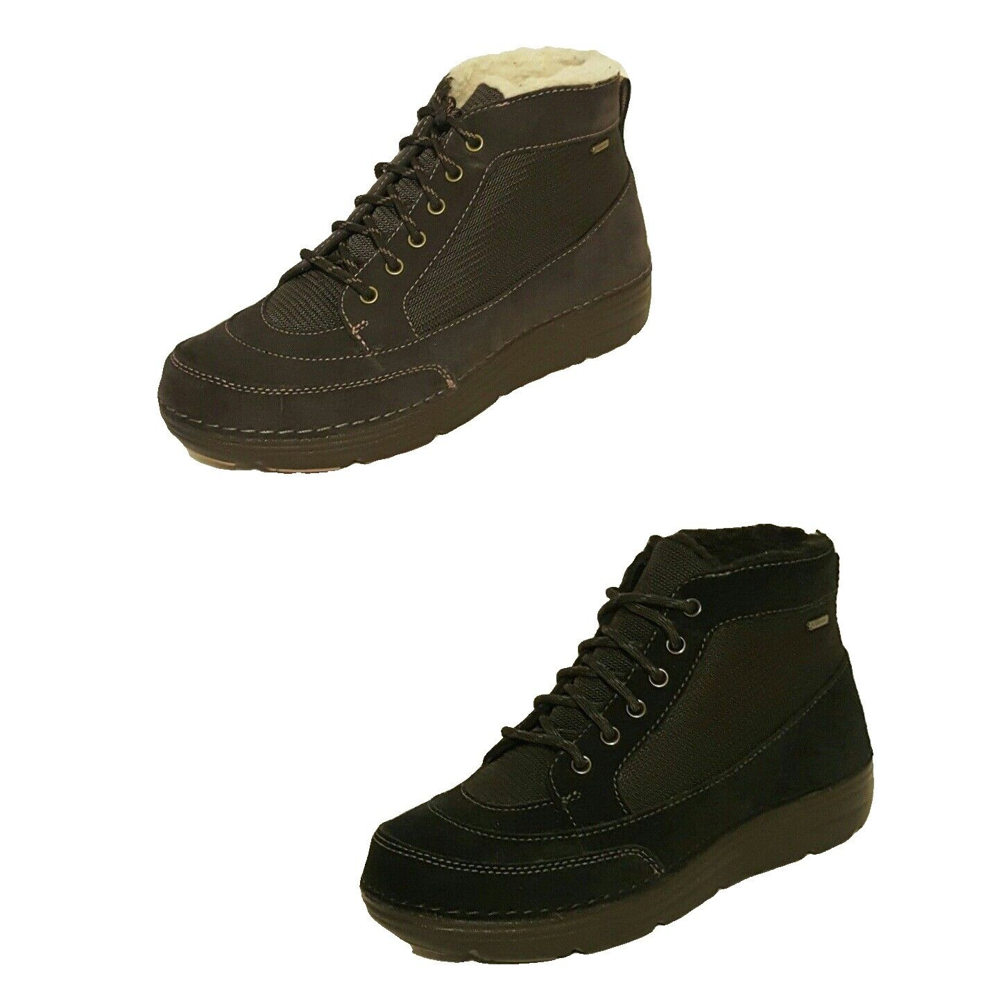 CLARKS  NELIA SAGE  GTX GORE-TEX SUEDE LEATHER LADIES WALKING BOOTS ANKLE BOOTS