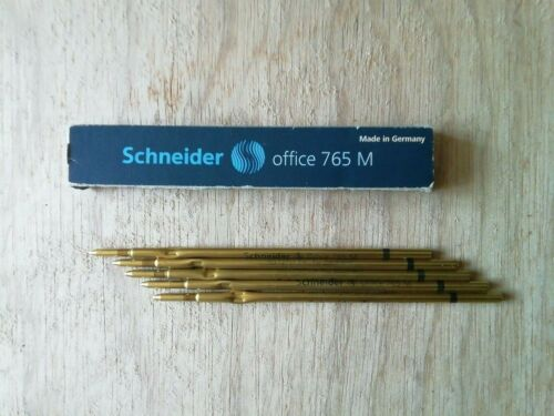 Schneider Ballpoint Pen Office 765 Medium Metal Refills Pack of 5