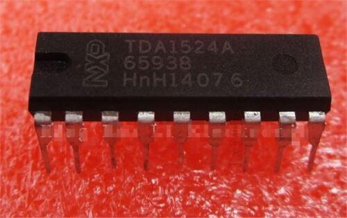 2 Stücke TDA1524 TDA1524A DIP-18 Stereo-Ton Lautstärkeregelungsschaltung vs