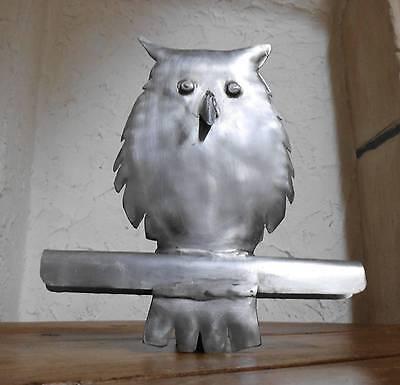 Zink Dachschmuck Kupferfigur Dachrinne Dachrinneneule EULE Dachfigur Kupfer
