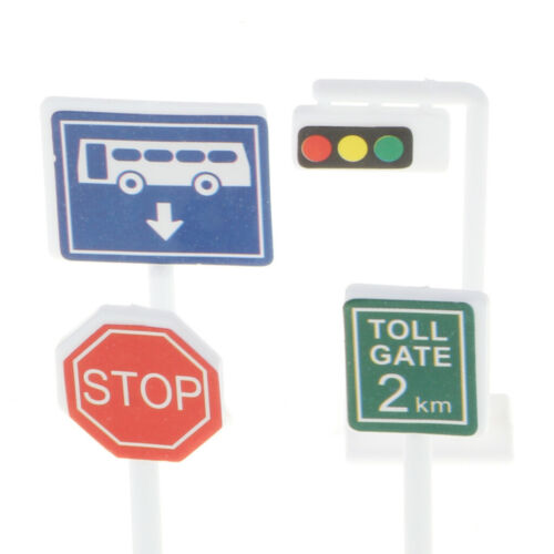 2set Early Learning Kids Children Educational Traffic Signs Toy Set Gift