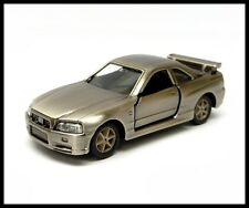 TOMICA NISSAN SKYLINE GT-R R34 1/61 TOMY NEW 20 Bronze