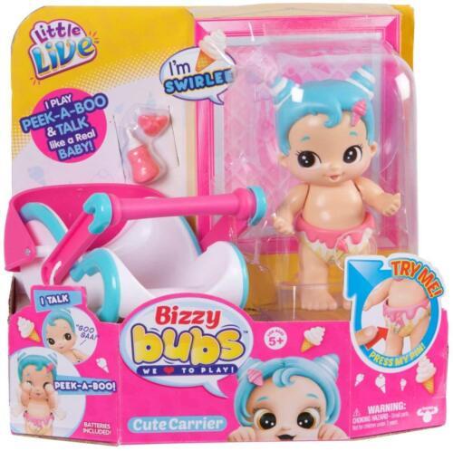 Little Live Bizzy ladruncolo Bambini swirlee Gracie PARLANTE BABY PLAY NUOVO ORIGINALE 5+
