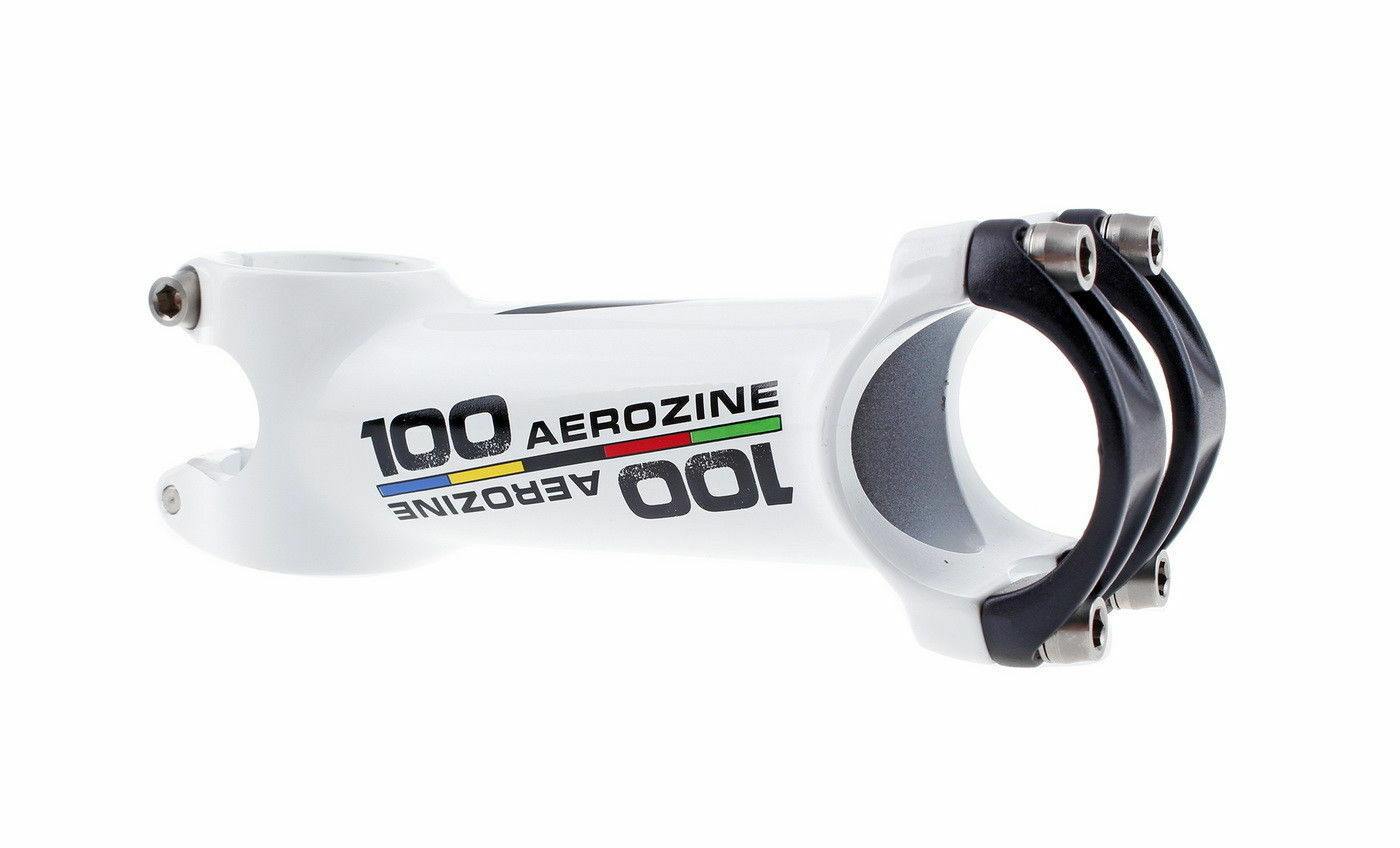 Aerozine xs7 road  bike stem mtb cx bicycle stem 6d 1-1 8  100mm white  low price