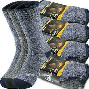3-12-Pair-Mens-Winter-Thermal-Warm-Heavy-Duty-Cotton-Crew-Work-Boots-Socks-9-13