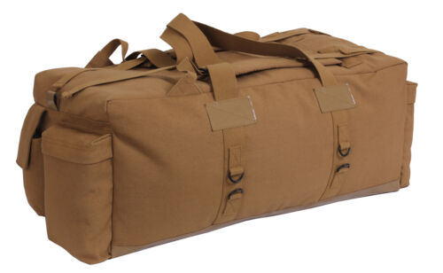 "military duffle bag mossad israeli style coyote 34/"" x 15/"" x 12/"" rothco 8136"