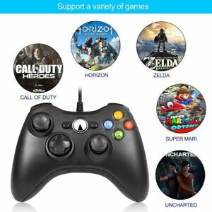 Details about USB Wired Joypad Gamepad Controller For Microsoft Xbox 360  /PC Windows 7 8 XP