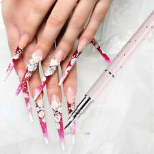 Gel Design Painting Pen Nail Art Brush Set for Salon Manicure DIY Tool 5Nibs NEW